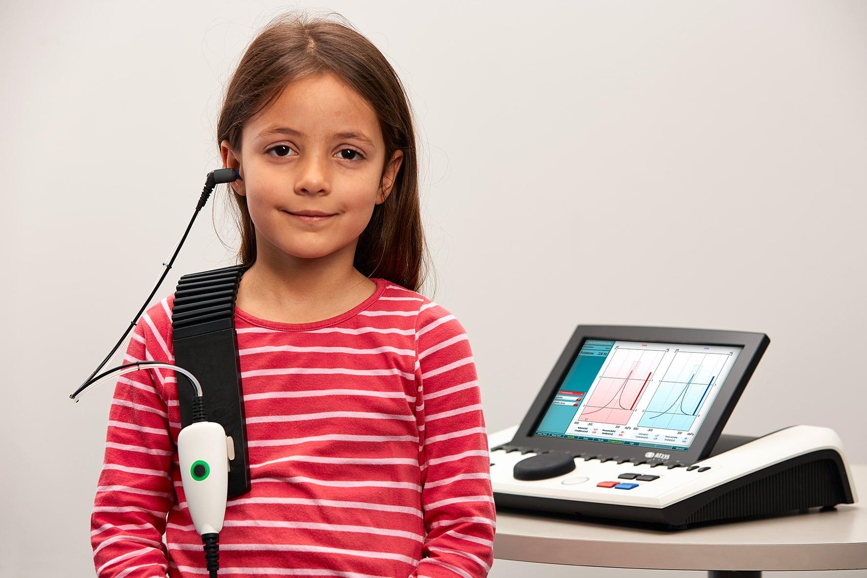 діагностика середнього вуха у дітей