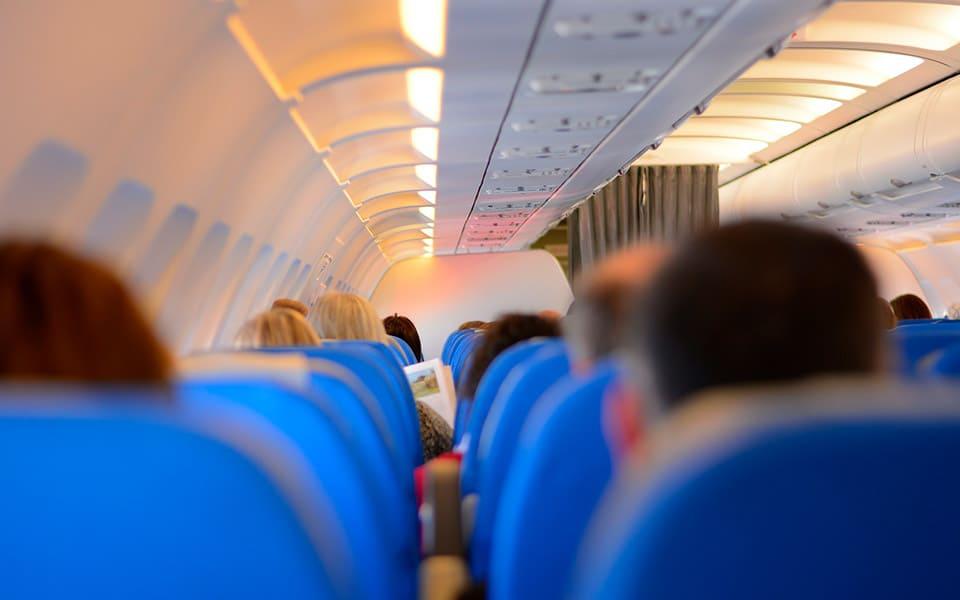 aircraft cabin, hearing aid