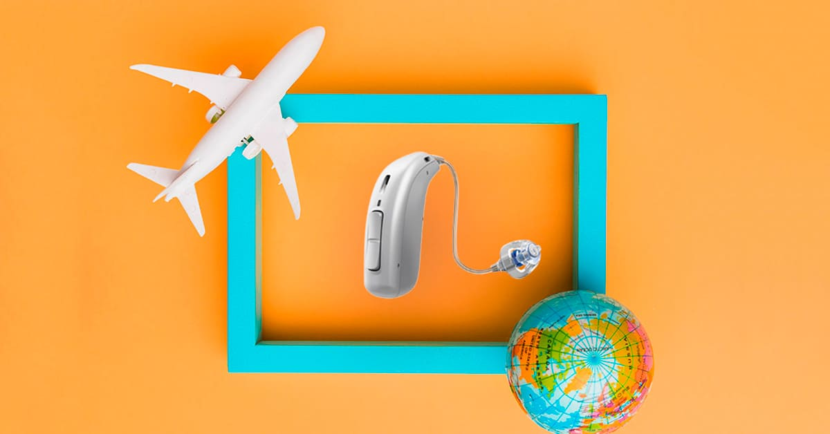 Earth, hearing aids, plane